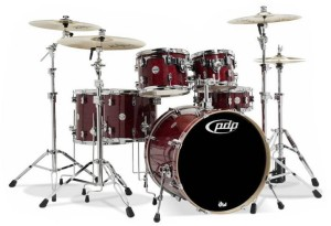 DW PDP Concept Maple CM6 Studio Shell Set (CS)