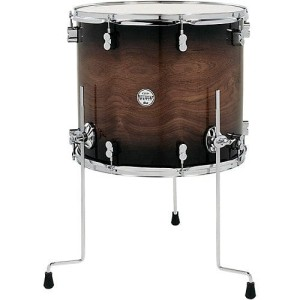 DW PDP Concept Exotic Walnut Floor Tom 14x12""