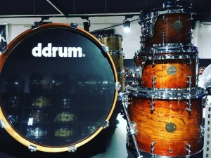 DDRUM Dios Bubinga Rock Shell Set