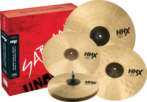 SABIAN HHX Complex Performance Set Natural 14,16,18,20