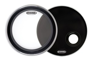 EVANS Emad Clear + Emad Resonant Black 22""