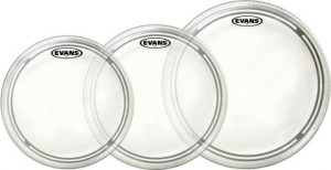 EVANS EC2 Clear Rock TomPack (10,12,16)