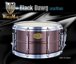 WORLDMAX BKR-7013DHX Black Hawg Copper 13x7 werbel