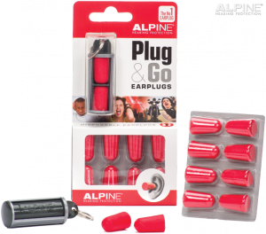 ALPINE Plug & Go stopery do uszu