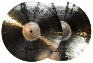 AMEDIA Vigor Rock Shiny Hi-hat 14""