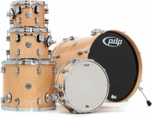 DW PDP Concept Maple CM5 Rock Shell Set (NA)