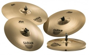 SABIAN XSR Performance Set 14,16,18,20