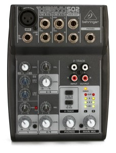 BEHRINGER Xenyx 502 mikser analogowy