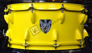 WORLDMAX Xmax Yellow werbel 13x7""