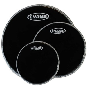 EVANS Black Chrome Rock TomPack (10,12,16)