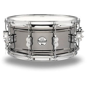 "DW PDP Black Nickel Over Steel 13x6,5"" werbel"