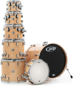 DW PDP Concept Maple CM7 Studio Shell Set (NA)