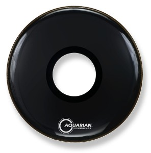 AQUARIAN Center Hole Ported Bass Black 22""