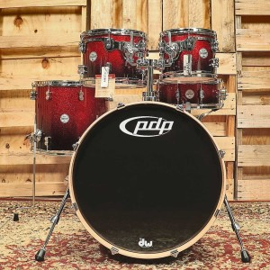 DW PDP Concept Maple CM5 Rock Shell Set (RBS)