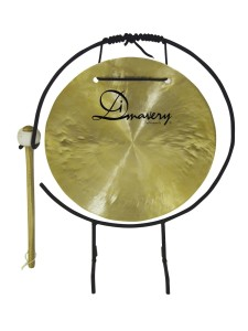 "DIMAVERY Gong 10"" + statyw"