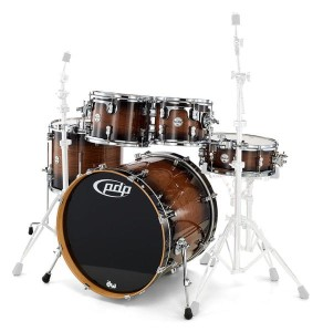 DW PDP Concept Exotic Walnut Shell Set
