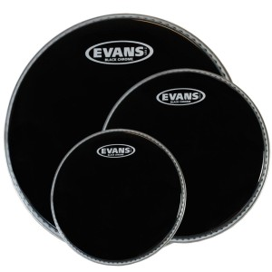EVANS Black Chrome Fusion TomPack (10,12,14)