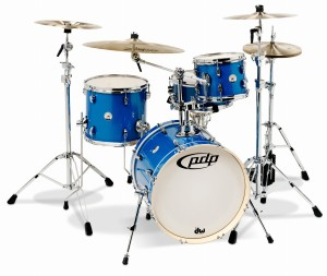 DW PDP New Yorker Shell Set (Sapphire Sparkle)