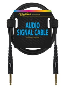 BOSTON AC-222-300 kabel jack/jack 6,3mm stereo 3m